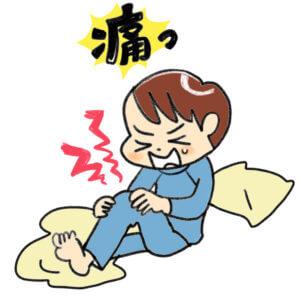 成長期の膝の痛み、オスグッドシュラッター病